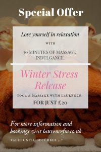 massage in Norwich stress release