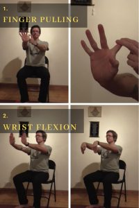 chair yoga therapy for hands