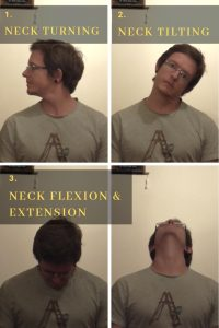 get pain free with chair yoga neck movements