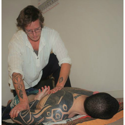 Deep Tissue Yoga Massage - Scapula Opener Sudbury Suffolk & Norwich