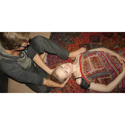 Deep Tissue Yoga Massage - Neck Stretch. Sudbury, Suffolk & Norwich