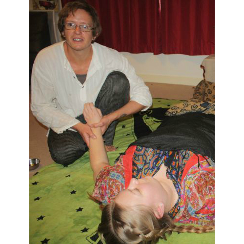 Massage - Forearm Stripping. Sudbury, Suffolk & Norwich