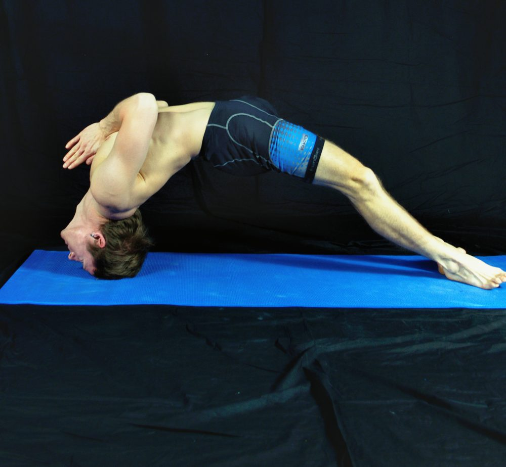 Yoga Pose Demonstration - Locked Bridge, in Sudbury, Suffolk & Norwich
