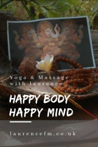 Happy body happy mind poster for health and well being