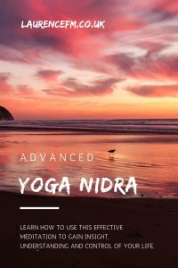 Yoga nidra meditation title image