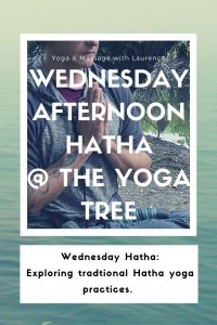 Poster for Hatha yoga class in Norwich